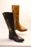 Female boots Royalty Free Stock Photos
