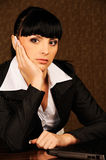 A female boss Royalty Free Stock Photo