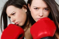 Female boxer Stock Photos