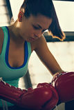 Female Boxer Royalty Free Stock Photos