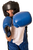 Female Boxer Royalty Free Stock Image