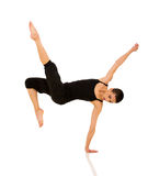 Female breakdancer Stock Images