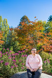 Female Breast Cancer Survivor Resuming Lifestyle. Female cancer survivor resuming lifestyle Royalty Free Stock Image