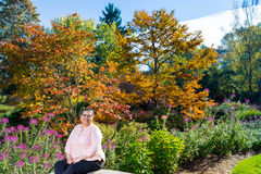 Female Breast Cancer Survivor Resuming Lifestyle. Female cancer survivor resuming lifestyle Stock Images