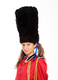 Female British Royal Guards Royalty Free Stock Photography