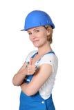 Female builder Stock Images