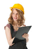Female builder Stock Photos