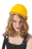 Female builder Royalty Free Stock Photo