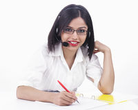 Female buisness executive Royalty Free Stock Images