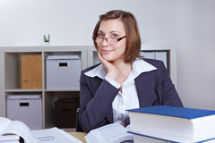 Female business consultant Stock Photo