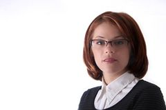 Female Business Lady Royalty Free Stock Photography