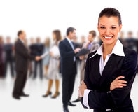 Female Business leader Stock Photo