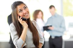 Female Business leader Royalty Free Stock Image