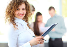 Female Business leader Royalty Free Stock Photos