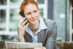 Female Business Manager Royalty Free Stock Photos
