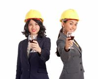 Female business partner Stock Images