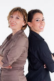 Female Business Partners Stock Photo