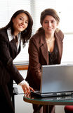 Female business partners Stock Photography