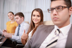 Female business professional at the meeting Royalty Free Stock Images