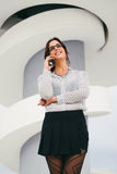 Female business and professional success Stock Photography
