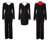 Female Business Suit Set | Isolated Stock Photography