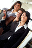 Female business team in an office Royalty Free Stock Photography