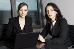 Female Businessteam Royalty Free Stock Photography