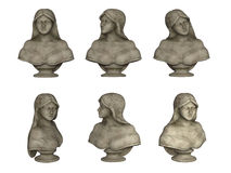 Female bust Stock Photography