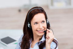 Female call center Stock Photography