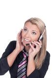 Female call center agent Stock Photos