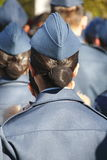 Female Canadian Air Cadet Royalty Free Stock Photography