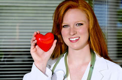Female Cardiologist Royalty Free Stock Photo