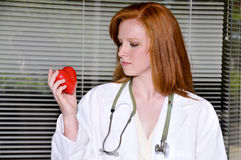 Female Cardiologist Royalty Free Stock Photos