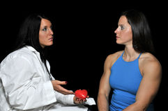 Female Cardiologist Stock Images