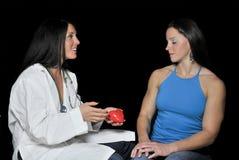 Female Cardiologist Stock Image