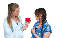 Female Cardiologist Stock Photography