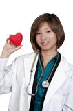 Female Cardiologist Stock Image