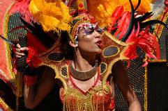 Female Cariwest Dancer Stock Image