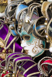 Female Carnival Mask in shop in Venice, Italy Royalty Free Stock Image