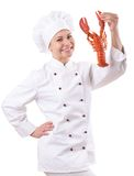 Female chef Royalty Free Stock Photos