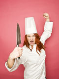 Female chef Royalty Free Stock Photo