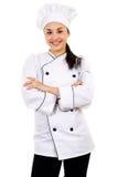 Female Chef Stock Image