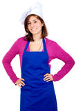 Female chef portrait Royalty Free Stock Images