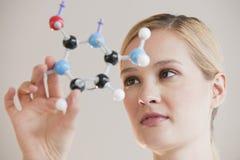 Female chemist Royalty Free Stock Photo