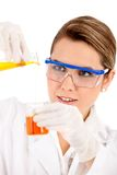 Female chemist Stock Photo