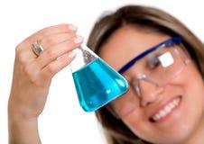Female chemist Royalty Free Stock Image