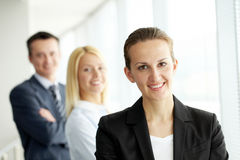 Female chief Royalty Free Stock Images