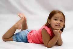 Female Child Portrait Stock Images
