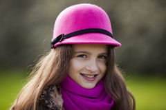 Female child portrait Royalty Free Stock Image