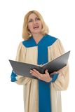 Female Choir Member 2 royalty free stock images